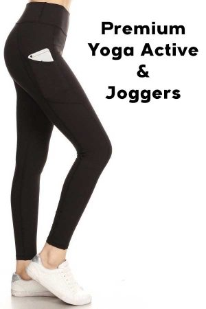 Premium Yoga Active and Joggers